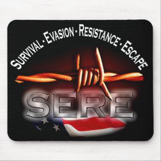 SEC - tapis de souris d'entraînement militaire des