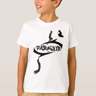 Secousse abstraite de Parkour T-shirt