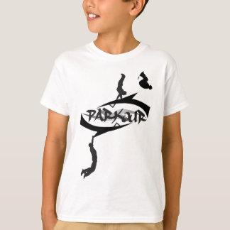 Secousse abstraite de Parkour T-shirt