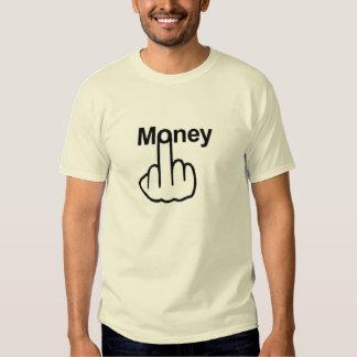 Secousse d'argent de T-shirt