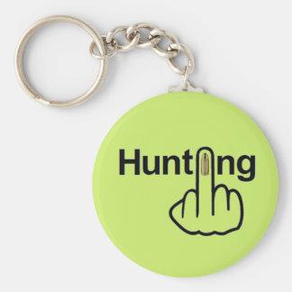 Secousse de chasse de porte - clé porte-clé rond