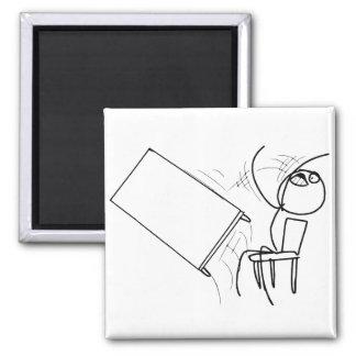 Secousse de Tableau renversant le visage Meme de r Aimants Pour Réfrigérateur