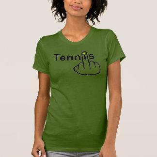 Secousse de tennis de T-shirt