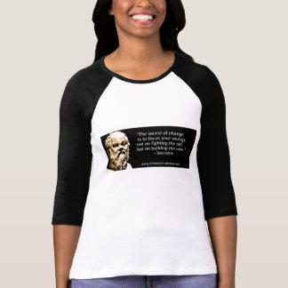 Secret de T-shirt de changement