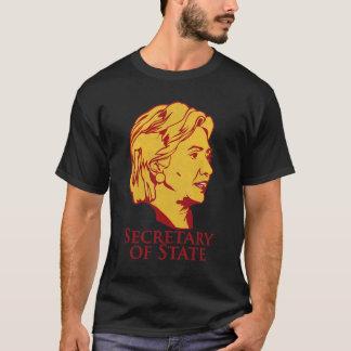 Secrétaire d'état de Hillary Clinton le T-shirt