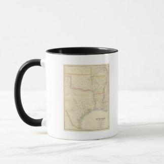 Section centrale du sud des Etats-Unis Mugs