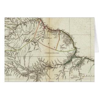Section du nord gravée par carte américaine