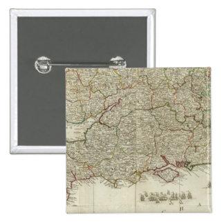 Section du sud de l'Angleterre et du Pays de Galle Badges