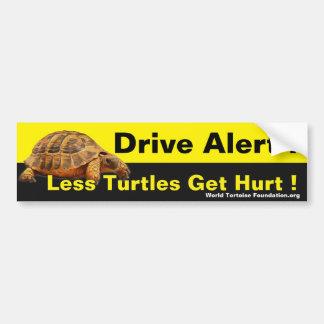 Tortue autocollants pour voiture - Voiture tortue ...