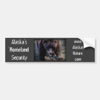 Sécurité de patrie de l'Alaska Autocollant Pour Voiture