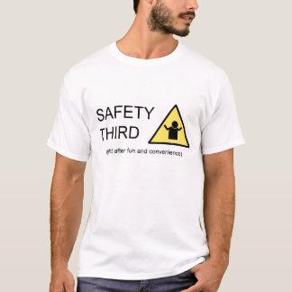Sécurité troisième t-shirt