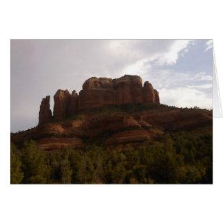 Sedona, carte de voeux de l'Arizona