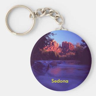 Sedona, porte - clé de l'Arizona Porte-clé Rond