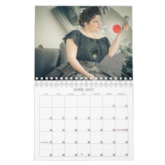 Séductrices uchroniques - calendrier 2017