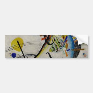 Segment de bleu de Kandinsky Autocollant De Voiture