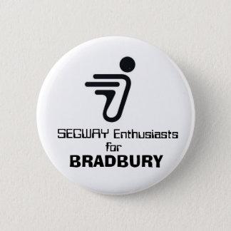SEGWAY, enthousiastes, pour, BRADBURY Badge