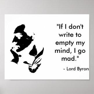 Seigneur Byron Poster