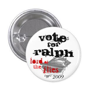 Seigneur du bouton de Ralph de mouches Badges