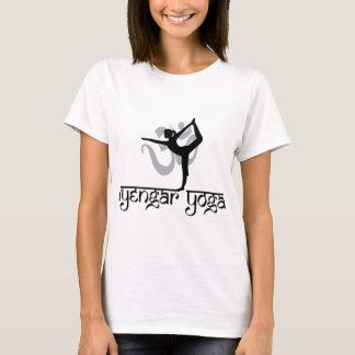 Seigneur du T-shirt de yoga d'Iyengar de pose de