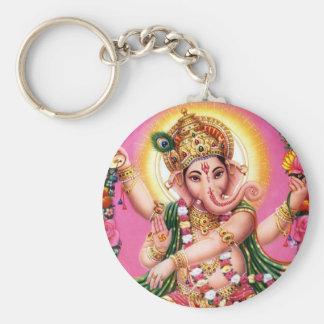 Seigneur Ganesha de danse Porte-clés