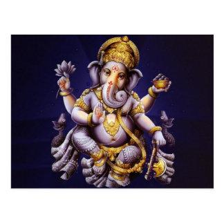 Seigneur Ganesha Postcard Carte Postale