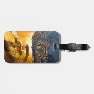 Seigneur Gautama Buddha Étiquette À Bagage
