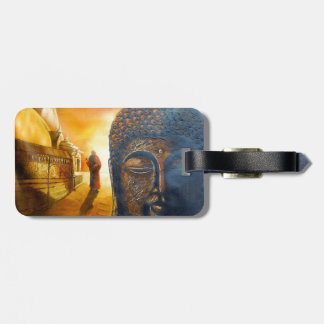 Seigneur Gautama Buddha Étiquette Pour Bagages