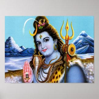Seigneur Shiva Affiches