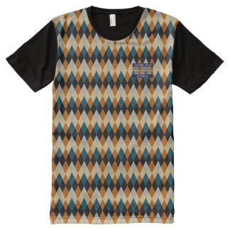 Seigneurs anglais riches snob Orange Blue T-Shirt