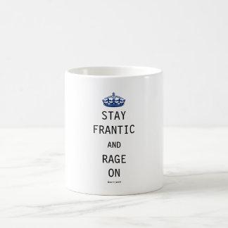 Séjour frénétique et rage dessus mug
