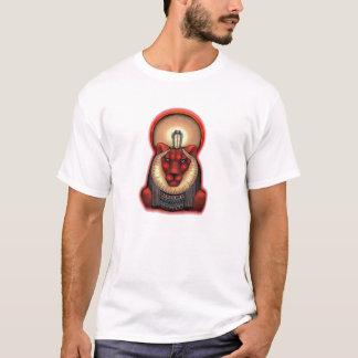Sekhmet unisexe T foncé, le coton organique 2 a T-shirt