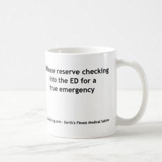 Sélection de département de secours mug