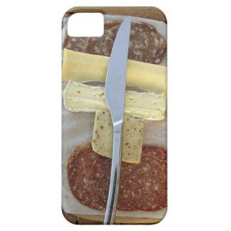 Sélection des fromages gastronomes et des viandes iPhone 5 case