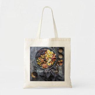Sélection italienne de nourriture tote bag