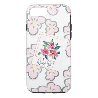 Sélectionnez un floral rose hawaïen heureux coque iPhone 7