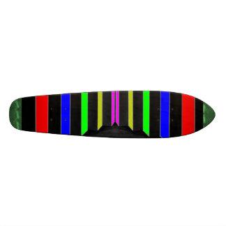Sélections graphiques artistiques mini skateboard 18,7 cm
