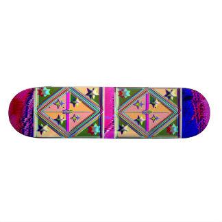 Sélections graphiques artistiques plateau de skateboard