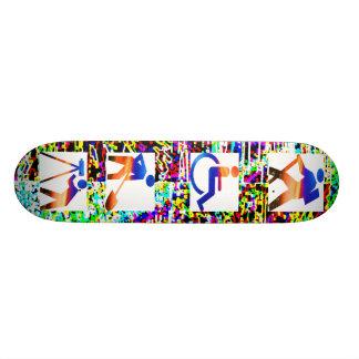 Sélections graphiques artistiques skateboard  20 cm
