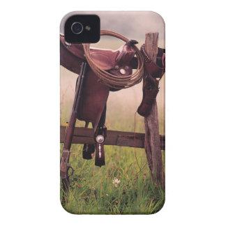 Selle et lasso sur la barrière coque iPhone 4