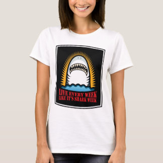 Semaine de requin t-shirt