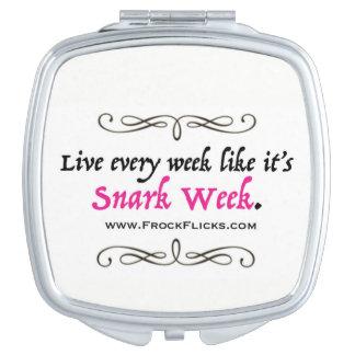 Semaine de Snark - miroir compact
