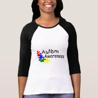 Sensibilisation sur l'autisme (4 pp) t-shirt