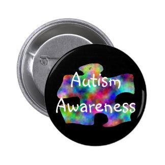 Sensibilisation sur l'autisme pin's avec agrafe