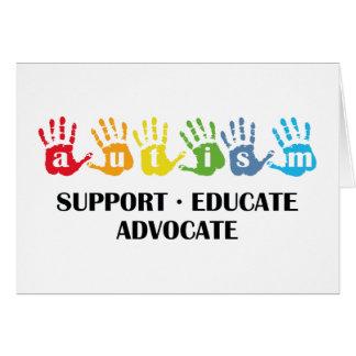 Sensibilisation sur l'autisme : L'appui Cartes
