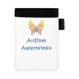 Sensibilisation sur l'autisme mini Padfolio