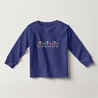 Sensibilisation sur l'autisme t-shirt pour les tous petits