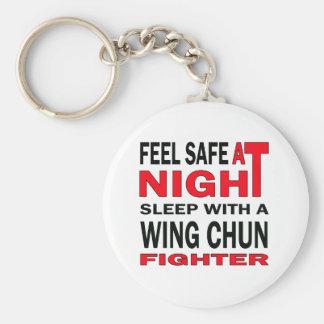 Sentez en sécurité au sommeil de nuit avec un porte-clé rond