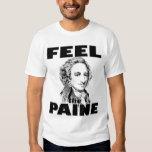 Sentez la chemise des hommes de Paine T-shirts