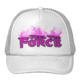Sentez le casquette de rose de force