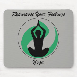 Sentiments de Mousepad de yoga Tapis De Souris